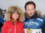 Geri Halliwell et son fiancé Christian Horner : In love et complices au ski