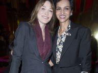 Carla Bruni-Sarkozy et Farida Khelfa: Moment mode entre sourires et jolies robes