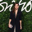 """Emma Watson lors de la cérémonie """"The British Fashion Awards"""" 2014 à Londres, le 1er décembre 2014"""