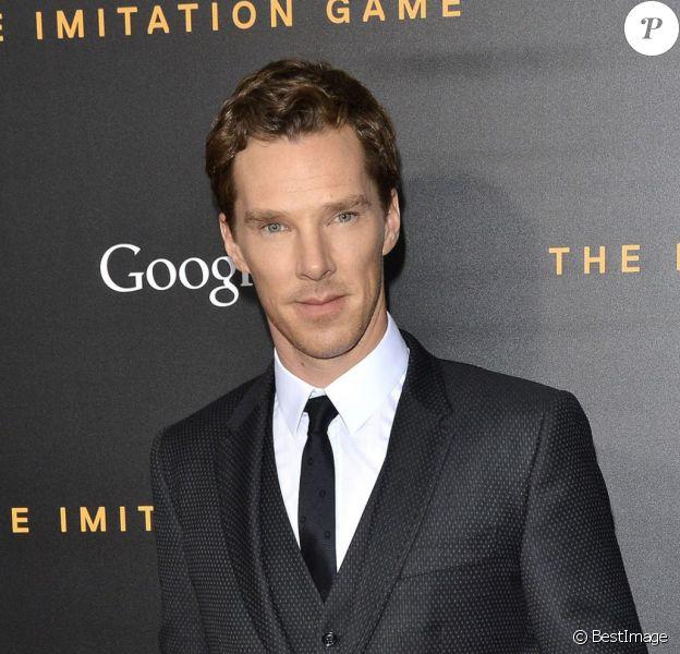 "Benedict Cumberbatch - Avant-première du film ""The Imitation Game"" au Ziegfeld Theater à New York. Le 17 novembre 2014"