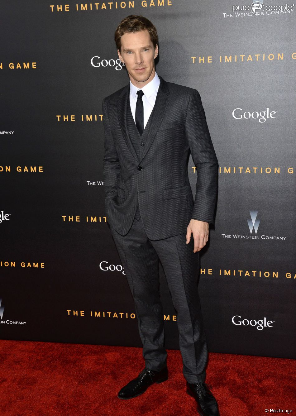 "Benedict Cumberbatch - Avant-première du film ""The Imitation Game"" au Ziegfeld Theater à New York. Le 17 novembre 2014"