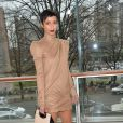 Sonia Rolland assiste au défilé Stéphane Rolland haute couture printemps-été 2015 à La Maison de la Radio. Paris, le 27 janvier 2015.