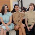 Sonia Rolland et de nombreuses personnalités ont assisté au défilé Stéphane Rolland haute couture printemps-été 2015 à La Maison de la Radio. Paris, le 27 janvier 2015. (crédit Abaca TV)
