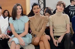 Fashion Week : Sonia Rolland, radieuse spectatrice au défilé Stéphane Rolland