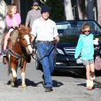 Please hide the children's faces prior to the publication. Actor Ben Affleck who is set to star in the Batman v Superman movie spends some quality time with his kids by taking them to the local Farmers Market in Pacific Palisades, Los Angeles, CA, USA on February 1, 2015. The hunky star showed off his muscular physique in a tight-fitting light sweater while he kept his watchful eye on his children. Photo by GSI/ABACAPRESS.COM02/02/2015 - Los Angeles