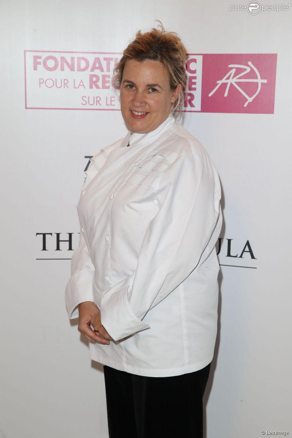 Exclusif - Hélène Darroze - Gala de la fondation ARC au profit de la recherche contre le cancer du sein à l'hôtel Peninsula à Paris le 9 octobre 2014.