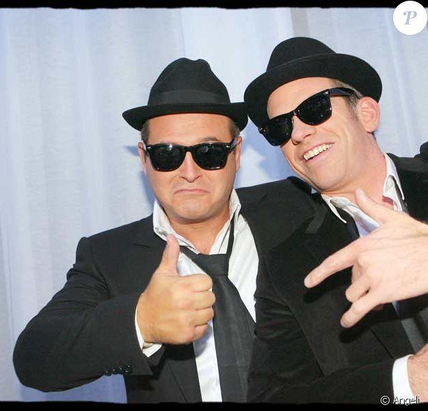 Cauet et Garou nous font un remake des Blues Brothers