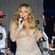 Mariah Carey, Flo Rida lors de la Cérémonie des World Music Awards au sporting de Monaco le 27 mai 2014.