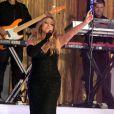 Mariah Carey en concert au Rockefeller à New York, le 16 mai 2014