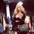 Paris Hilton a ajouté une photo sur son compte Instagram le 3 février 2015