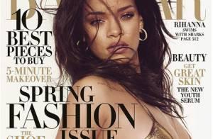 Rihanna : Sexy nageuse, elle flirte avec un requin pour Harper's Bazaar