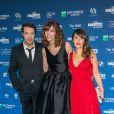 Nicolas Bedos, Doria Tillier et Tania Garbarski lors de la 5e de la cérémonie des Magritte du cinéma belge à Bruxelles le 7 février 2015