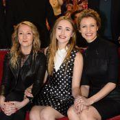 Alexandra Lamy : Divine au côté de sa superbe fille Chloé et sa soeur Audrey