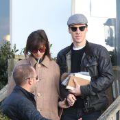 Benedict Cumberbatch : Avec sa belle, tout sourire, au lendemain de leur mariage
