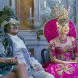 """Exclusif - Mozer Francesca, le chanteur Zucchero, Antonia Sautter - Ballet du Doge """"Cupidon au pays des merveilles"""" à l'occasion du Carnaval de Venise le 14 février 2015."""