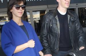 Benedict Cumberbatch et sa belle, mariés : La lune de miel attendra
