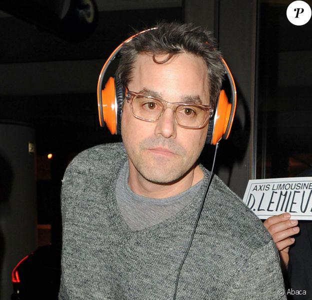 Nicholas Brendon, à l'aéroport LAX de Los Angeles, le 19 février 2012