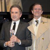 Michel Drucker honoré devant Francis Huster et Laurent Delahousse !