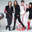 Florent Pagny, Zazie, Mika et Jenifer composent le jury de  The Voice  saison 4.