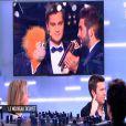 Jeff Panacloc revient sur ses blagues à l'égard de Kendji Girac dans C à vous, le 20 février 2015 sur France 5.