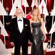 Laura et Bruce Dern - 87e cérémonie des Oscars à Hollywood, le 22 février 2015.