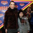 Naomi Grossman et Ben Woolf lors de la cérémonie de remise des prix Kaplya des films d'horreur 2014 au Vegas Crocus City shopping à Moscou, le 2 février 2015.