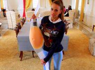 Vanessa Lawrens : Elle exhibe fièrement son faux ventre de femme enceinte