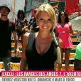 Amélie Neten entourée des autres Anges - Bande-annonce des  Anges 7 . L'émission le  Mag  sur NRJ12 a dévoilé les trois premières minutes du programme.