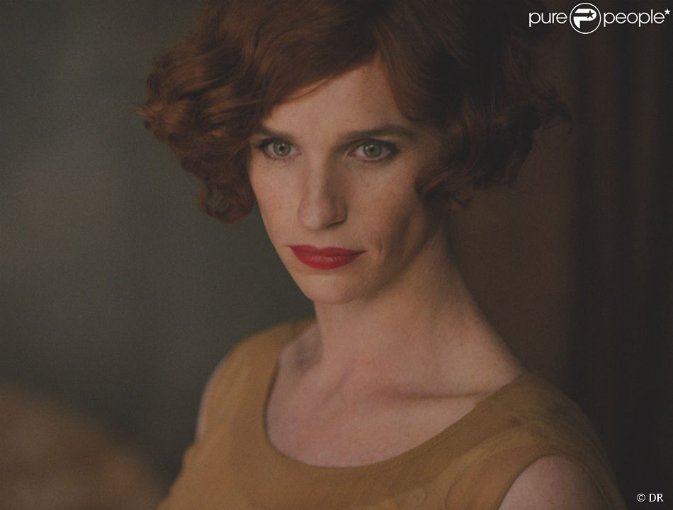 Eddie Redmayne transformé en femme dans le film The Danish Girl