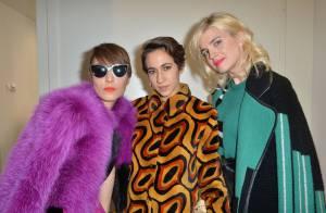 Fashion Week : Cécile Cassel, ultrachic à Milan pour applaudir Doutzen Kroes