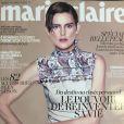 Couverture du Marie Claire d'avril 2015.