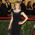 """Felicity Huffman lors de la 21ème cérémonie annuelle des """"Screen Actors Guild Awards"""" à l'auditorium """"The Shrine"""" à Los Angeles, le 25 janvier 2015."""