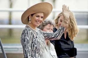 Maxima des Pays-Bas : Reine du canal ultraglamour à Bois-le-Duc