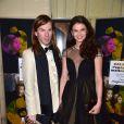 Christophe Guillarmé et Stephanie Pasterkamp au Gala de l'enfance maltraitée à la Salle Gaveau à Paris le 9 mars 2015.