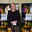 Alexandra Vandernoot au Gala de l'enfance maltraitée à la Salle Gaveau à Paris le 9 mars 2015.