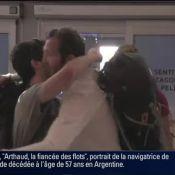 Dropped : Philippe Candeloro, Jeannie Longo et Alain Bernard arrivent à Paris