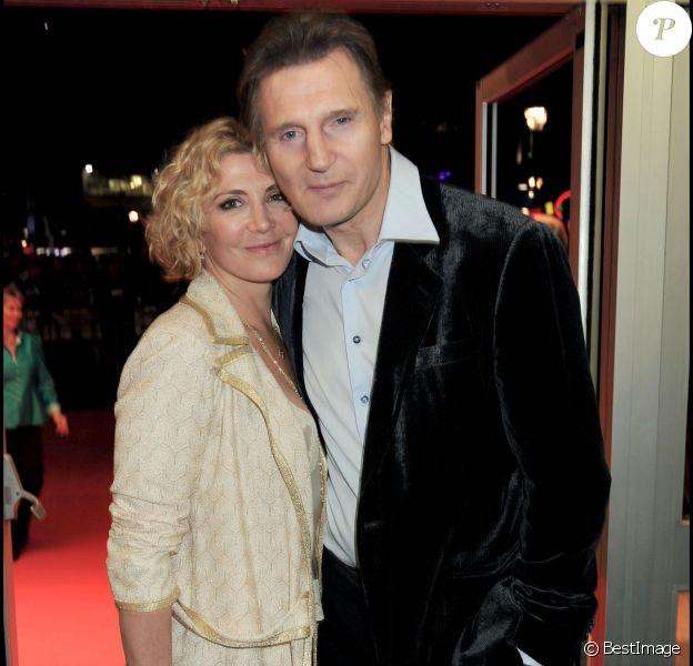 Natasha Richardson et Liam Neeson lors du festival du film de Londres le 17 octobre 2008