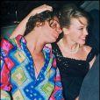 """"""" Kylie Minogue et Michael Hutchence à Londres, le 10 juillet 1990. """""""