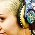 Miley Cyrus a ajouté une photo à son compte Instagram, le 17 mars 2015