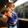 Kian Egan a ajouté une photo à son compte Instagram avec son fils Koa, le 8 novembre 2014