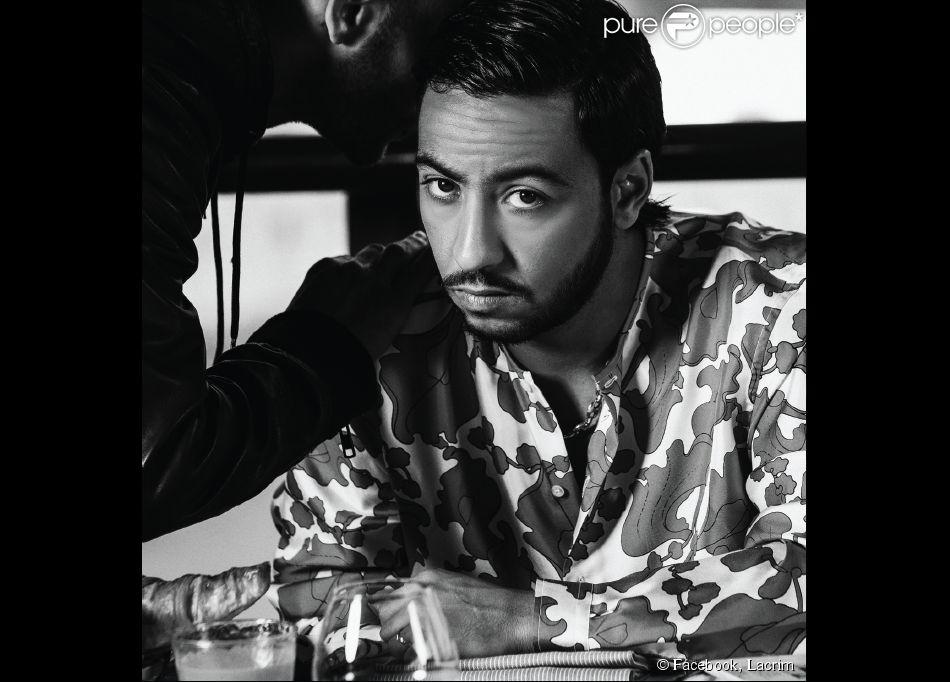 Lacrim (Karim Zenoud). Photo publiée le 30 novembre 2014.