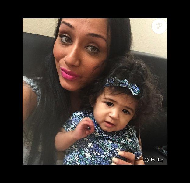 Nia et la petite Royalty, dont Chris Brown serait le papa.
