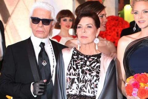 Bal de la Rose 2015 : Karl entraîne Caroline dans un tourbillon Art Deco