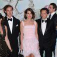 Charlotte Casiraghi et Gad Elmaleh officialisaient leur amour lors du Bal de la Rose 2013, mis en scène par Karl Lagerfeld sur le thème de la Belle Epoque, au Sporting d'été de Monte-Carlo.
