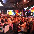Ambiance constructivisme russe dans la Salle des étoiles au Bal de la Rose 2014.