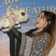 """Capucine Anav - Avant-première du film """"Clochette et la Créature légendaire"""" au Gaumont Champs-Elysées à Paris, le 20 mars 2015."""