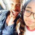 Gary Dourdan et sa fille sur Instagram, le 12 juillet 2014