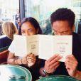 Gary Dourdan et sa fille sur Instagram, le 2 avril 2014