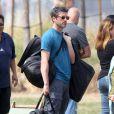 L'acteur Patrick Dempsey est allé voir son fils Luke jouer au football à Los Angeles, le 22 mars 2015