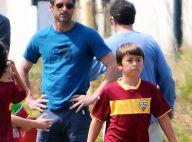 Patrick Dempsey papa poule : Venu soutenir ses fils, il retrouve son ex-femme